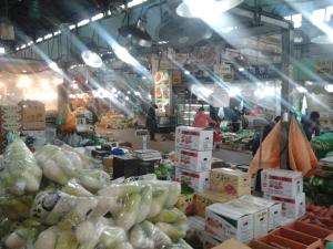 Ortofrutta al Mercato di Garak a Seoul